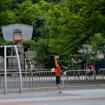 小学生バスケのトレーニング